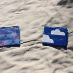 Lightly used duct tape wallets that I made - tie dye & teal, or blue sky - $4 each. Send payment via PayPal to megan@meganpru.com with the item name and which wallet you'd like to purchase.