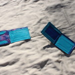 Lightly used duct tape wallets that I made - tie dye & teal, or blue sky - $4 each. Send me a message via the contact page to get my PayPal info for purchase, with the item name and which wallet you'd like to purchase.